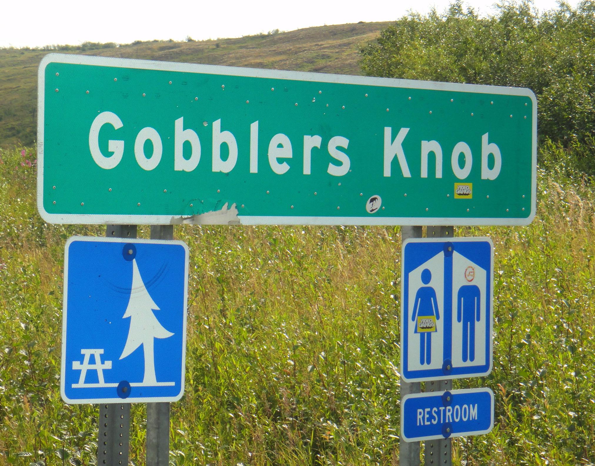 Knob gobbler