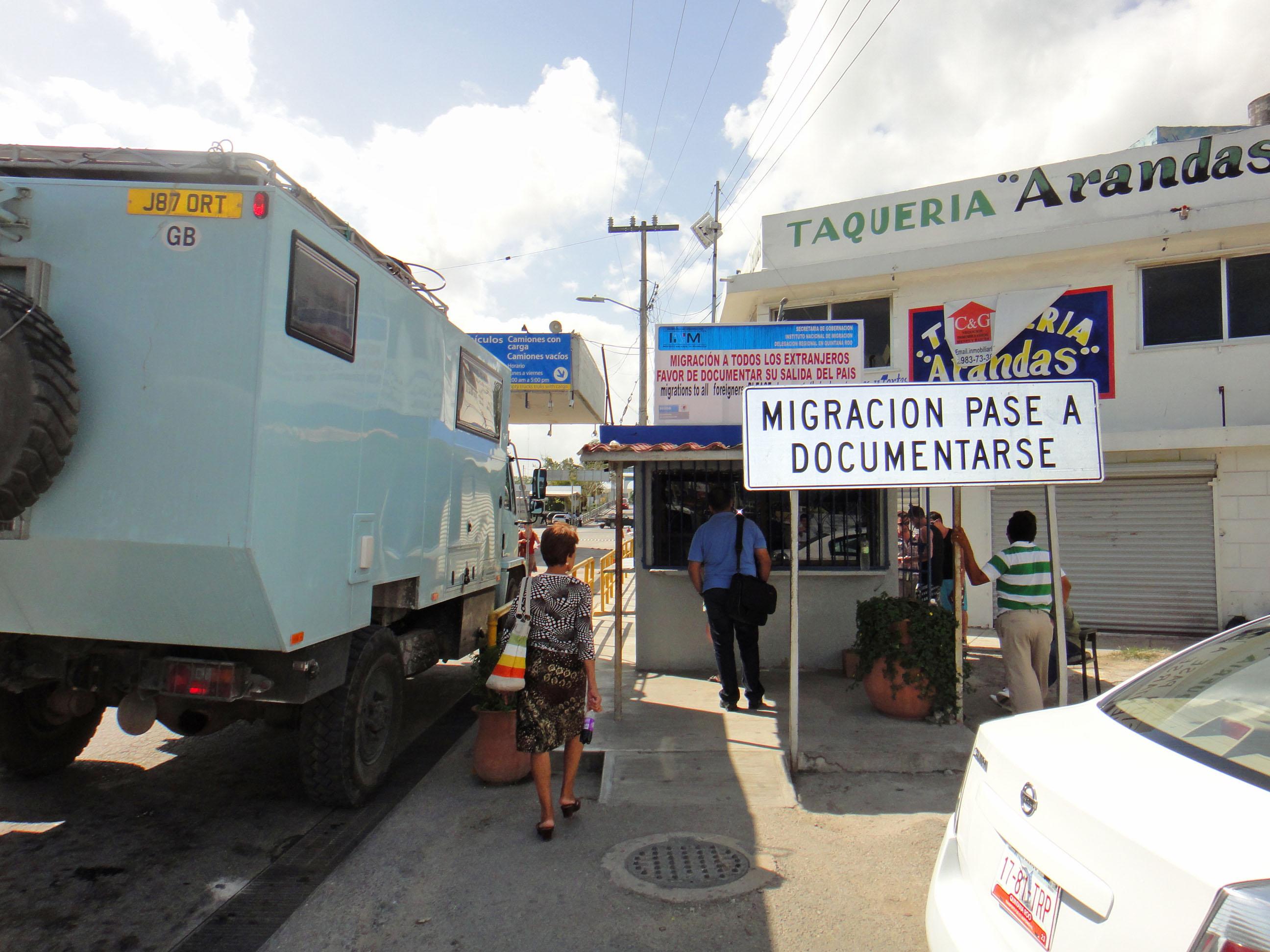 Mexico – Belize Border Crossing | fromalaskatobrazil