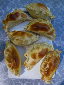 Empanadas ready to eat