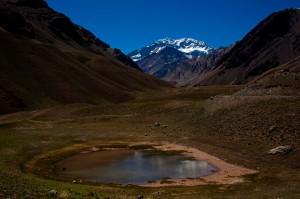 Valley View of Aconcagua