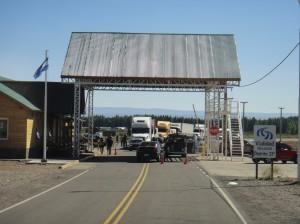 Argentina Border Post