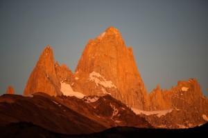 Cerro Fitzroy in morning light
