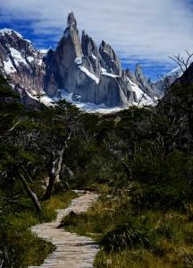 Cerro Torre and path 2