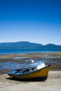 Puerto Cisnes Boat