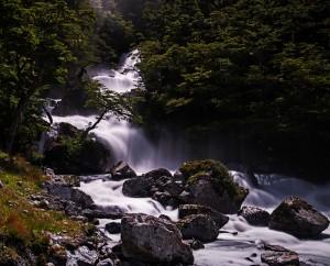 Waterfall river