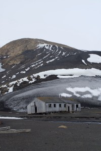 Whaler's Hut at Deception Island