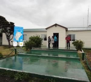 Argentina border building