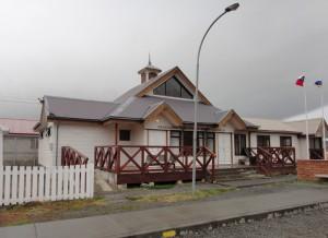 Chile border building