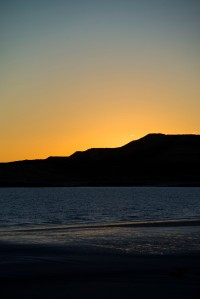 valdes sunset