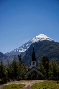 Church in Lanin NP