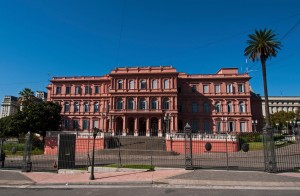 Presidential Offices in Plaza de Mayo