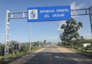 Entering Uruguay