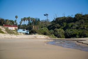 On the Beach at Santa Teresa