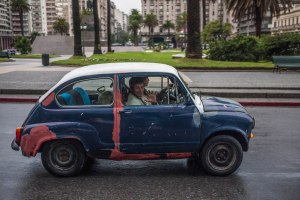 Car in Montevideo